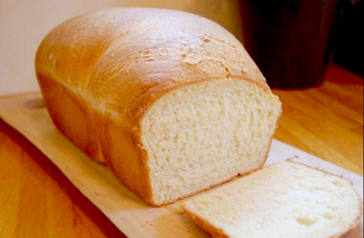 Receta de Pan blanco tradicional