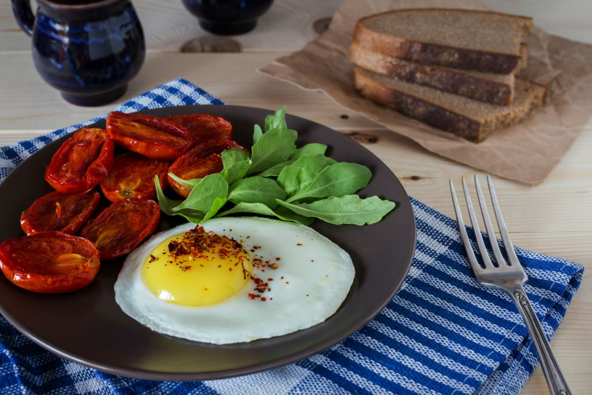 Receta de huevos a la plancha
