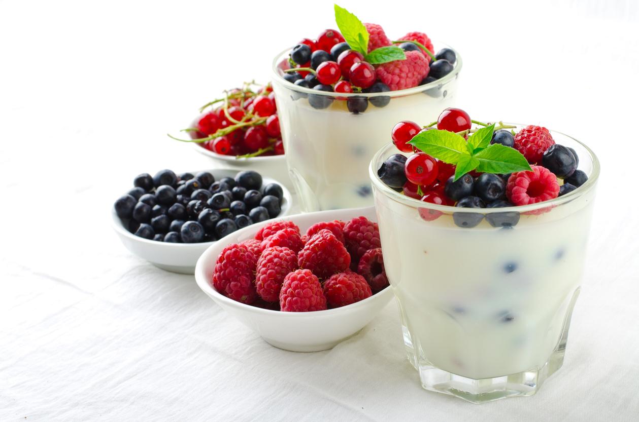 Receta de Yogurt helado de vainilla