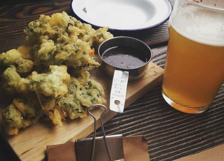 Receta de kale rebozado