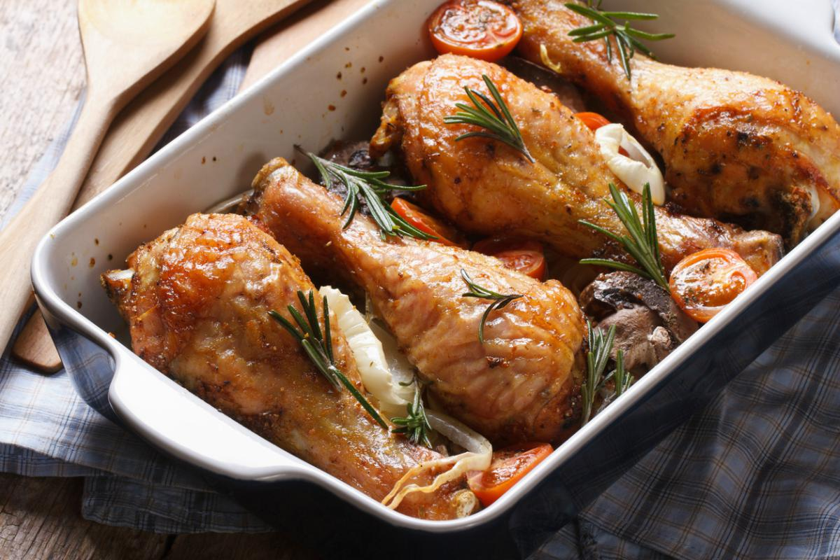 Jamoncitos de pollo al horno
