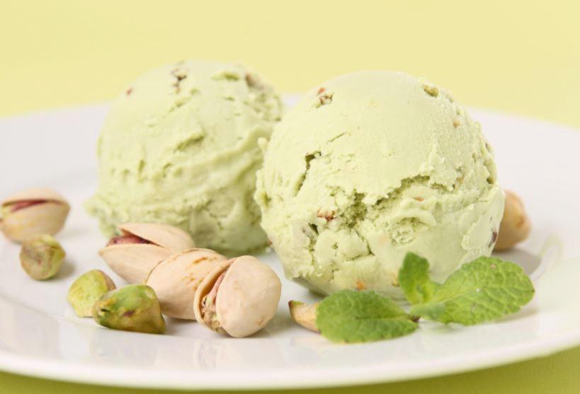 Receta de helado de pistacho casero