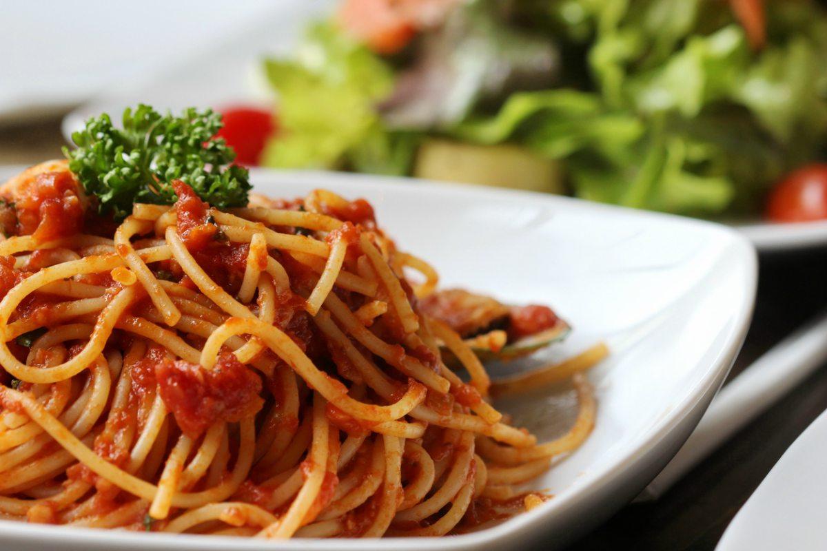 Receta de espaguetis al chipotle