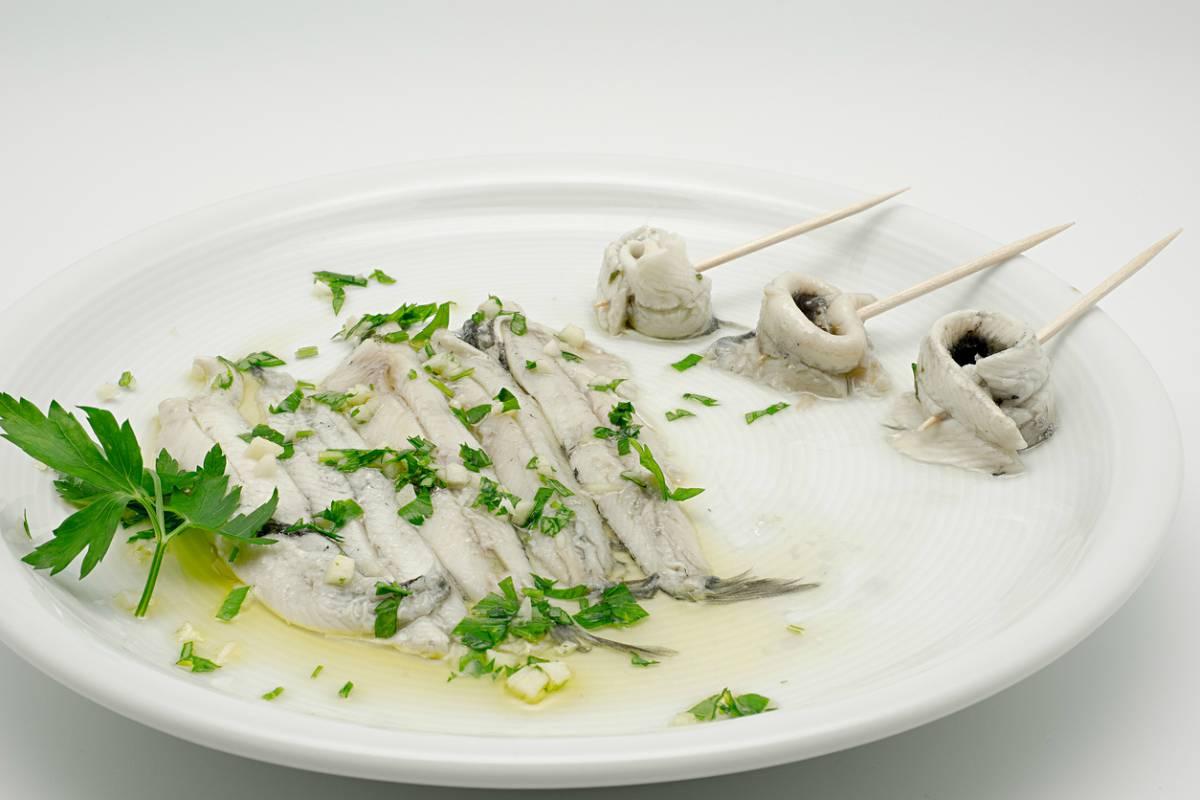 Receta anchoas marinadas