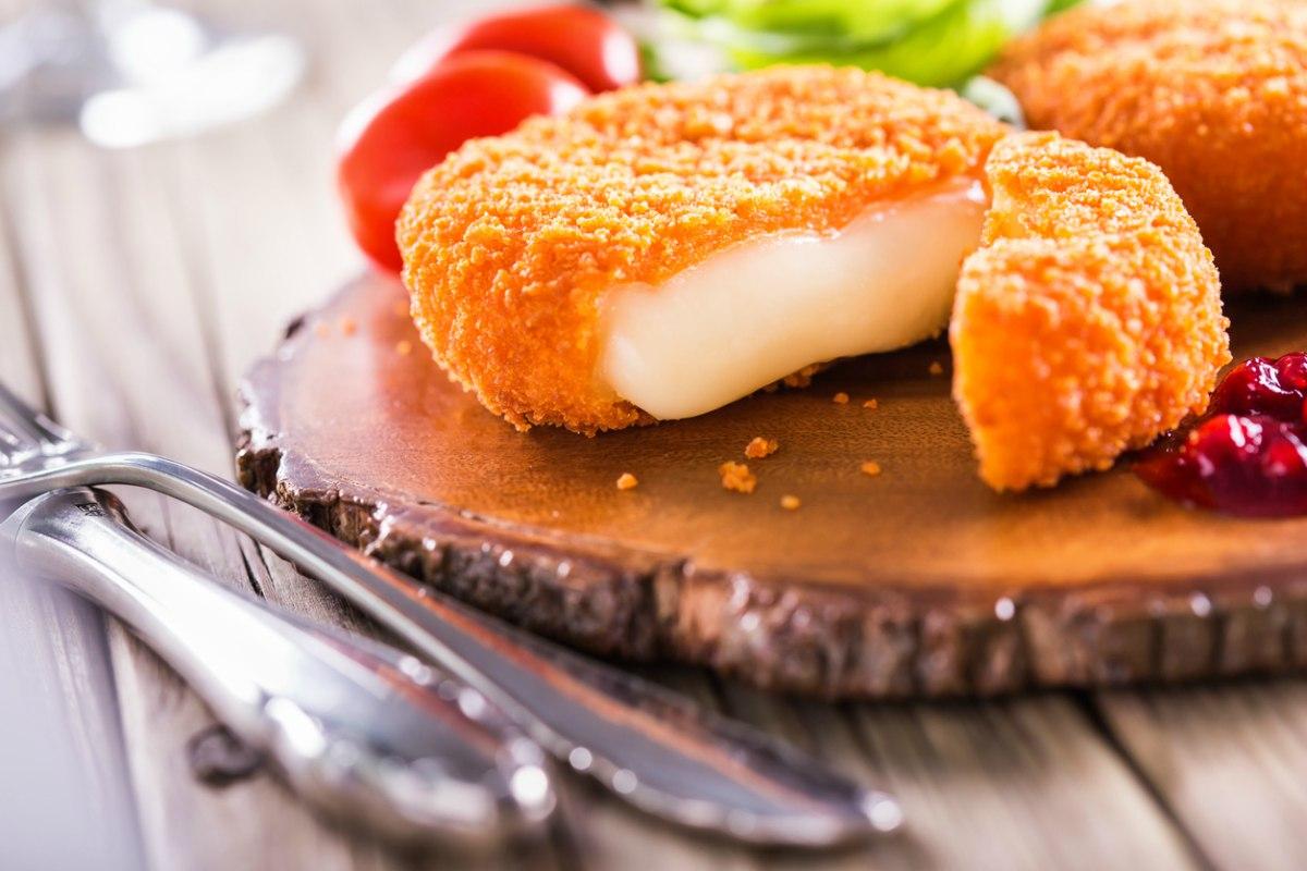 Receta de camembert frito