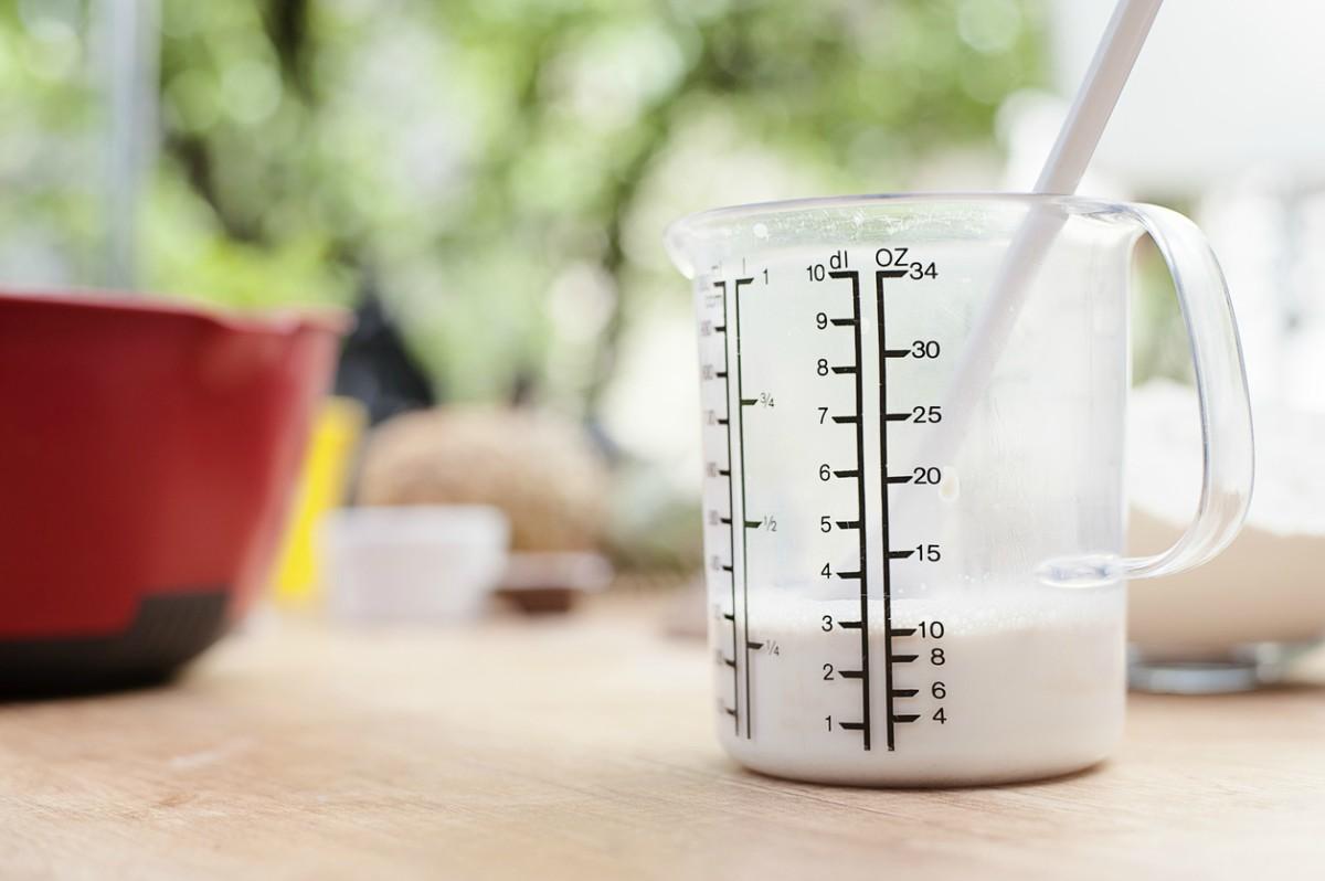 Receta de buttermilk casero