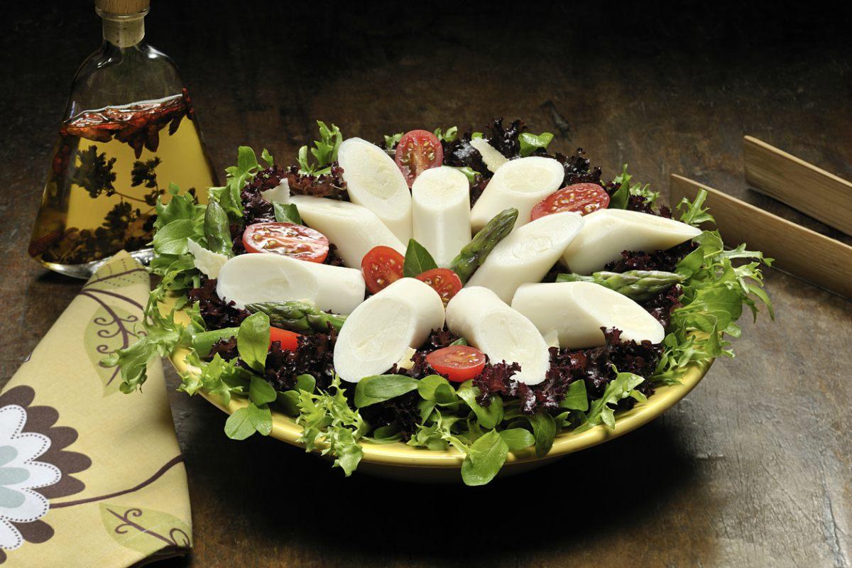 Receta de ensalada de palmito y tomates cherry