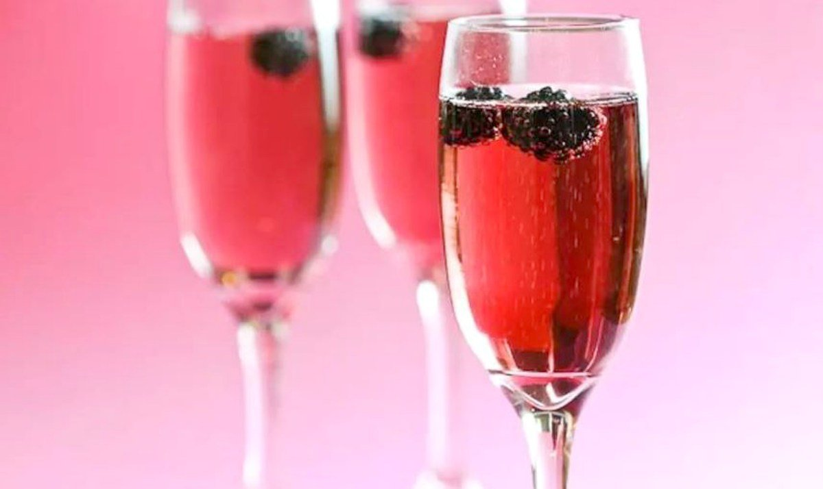Receta de Kir Royal