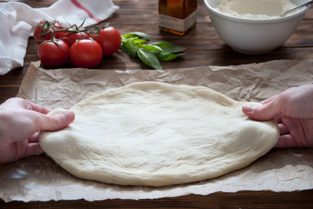 Receta de masa de pizza sin gluten