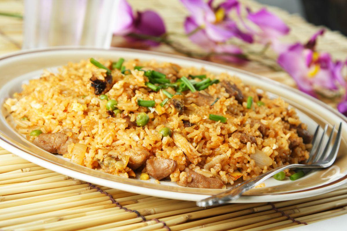 Receta de arroz con ternera