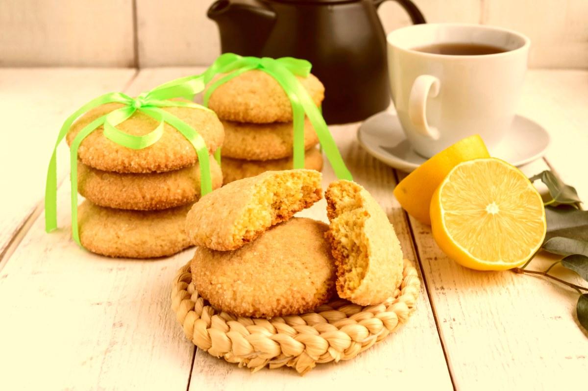 Receta de galletas de espelta y limón