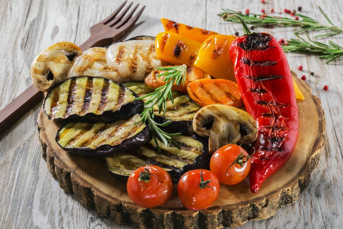 Receta de verduras a la plancha más jugosas (con un marinado fácil)