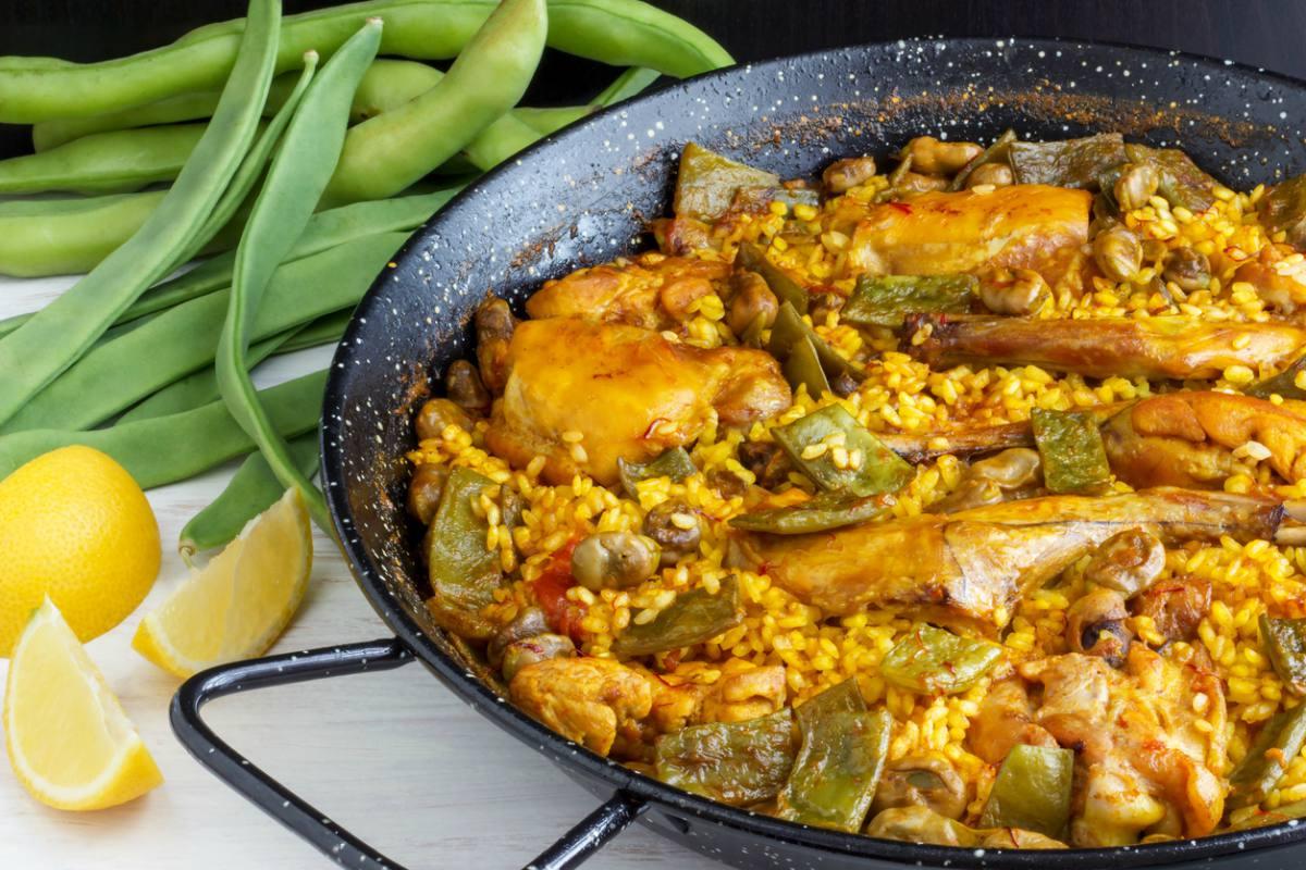 Receta de sofrito de paella valenciana
