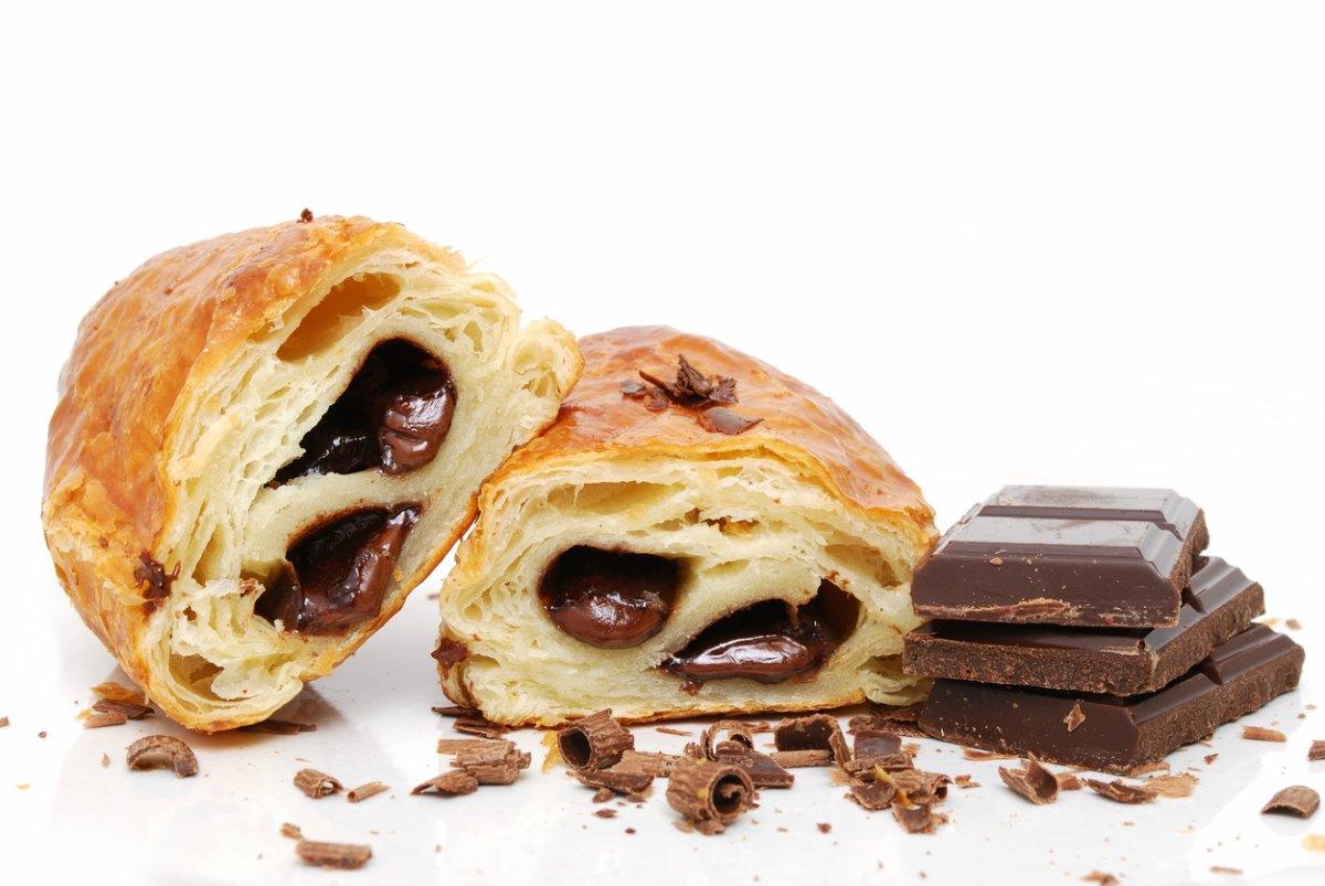 Receta de napolitana de chocolate