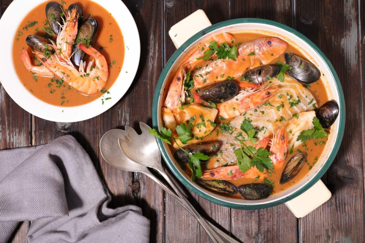 Receta de sopa bullabesa
