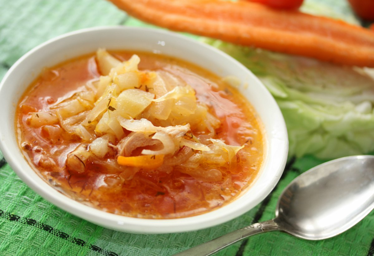 Receta de sopa de repollo