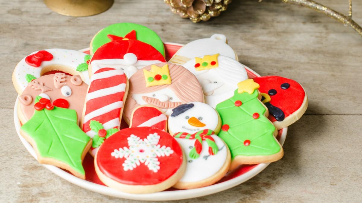 Receta de galletas de los Reyes Magos.