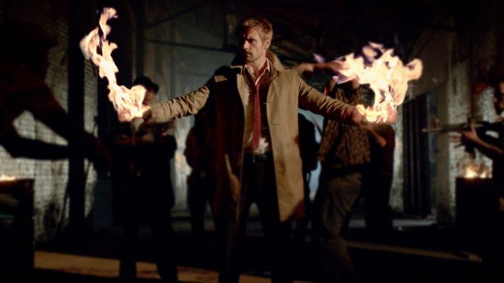 Se filtra en Internet el episodio de Arrow y Constantine juntos