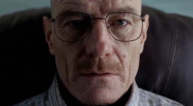 Bryan Cranston, Heisenberg en 'Breaking Bad', llora en directo