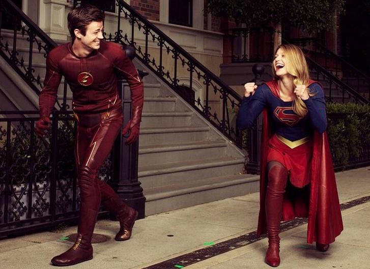 Posible crossover entre 'The Flash' y 'Supergirl'