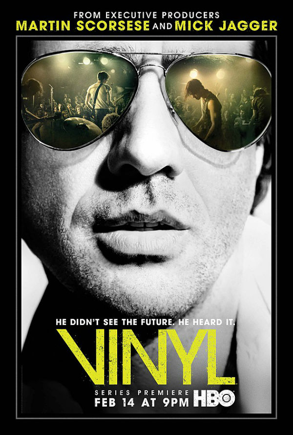 Póster y vídeo promocional de la serie 'Vinyl'
