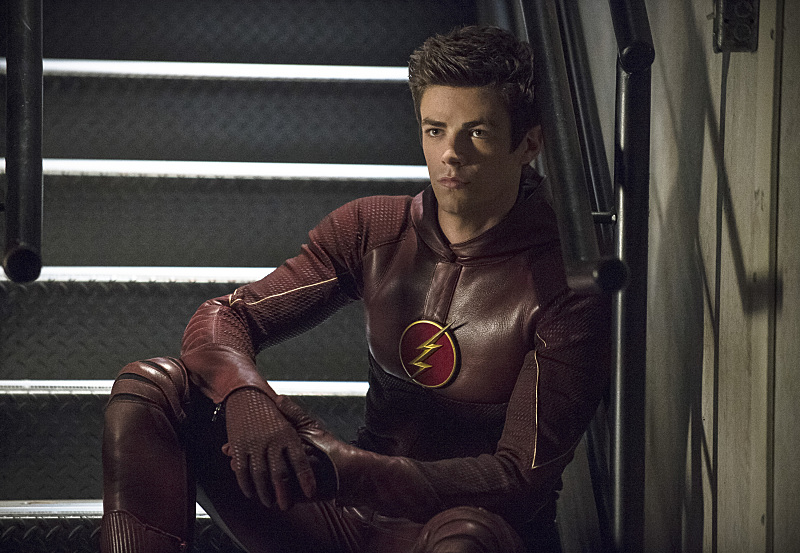 Grant Gustin será el doppelganger de 'The Flash'