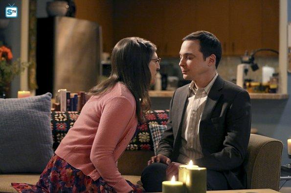 Primeras imágenes de la noche especial de Sheldon y Amy