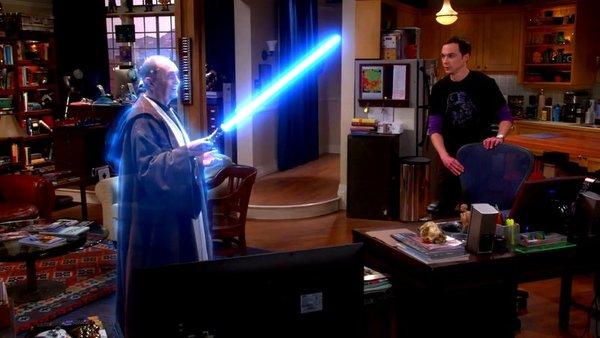 Homenaje de 'The Big Bang Theory' a Star Wars