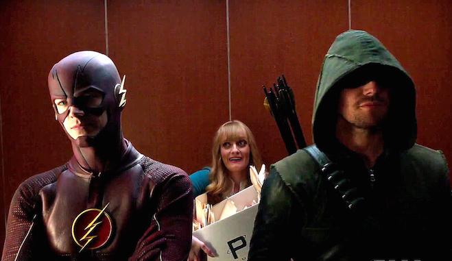 'Arrow' crece en audiencias gracias al crossover