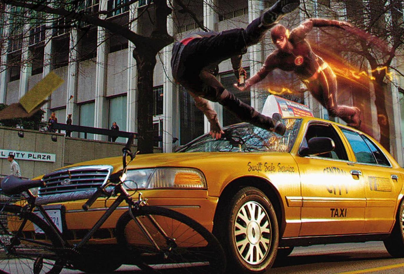Así son los efectos especiales de 'The Flash'