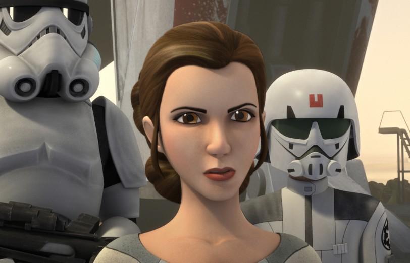 Veremos a la princesa Leia en 'Star Wars Rebels'