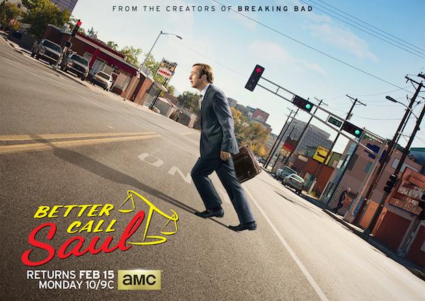 Póster de la segunda temporada de 'Better Call Saul'