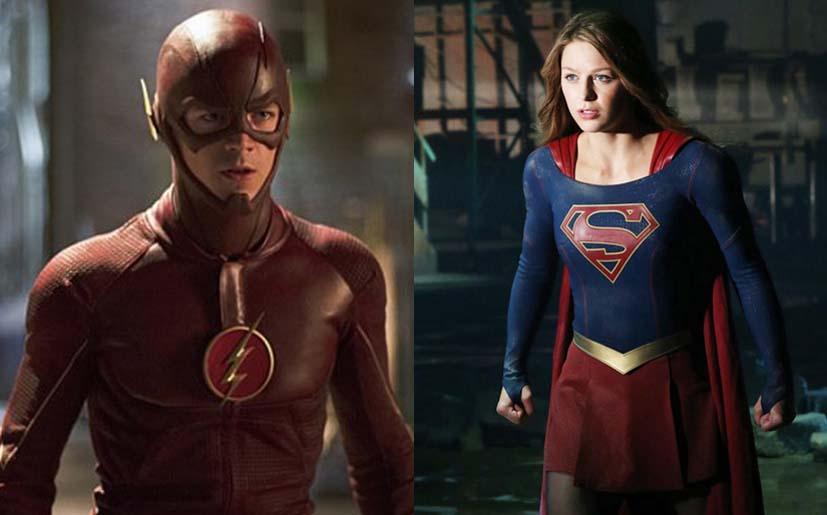 Nuevas pistas del crossover de 'The Flash' y 'Supergirl'