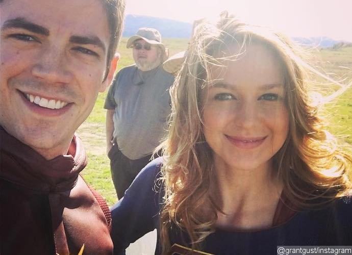 Primeras imágenes del crossover 'The Flash' y 'Supergirl'