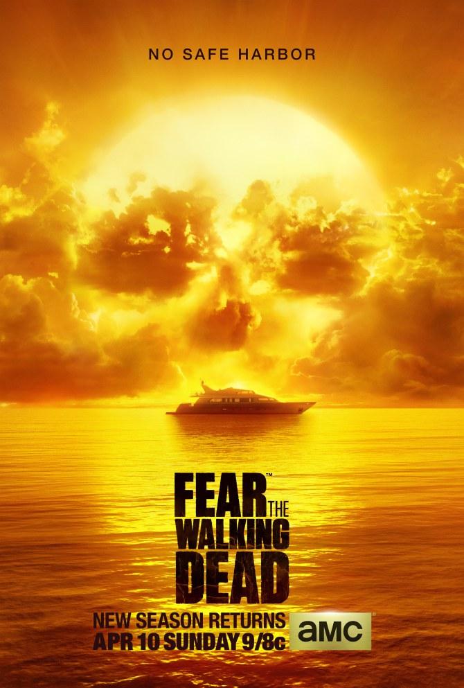 Impresionante póster de 'Fear The Walking Dead'