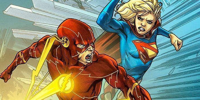 ¿Quién ganaría en una carrera entre 'The Flash y 'Supergirl'?