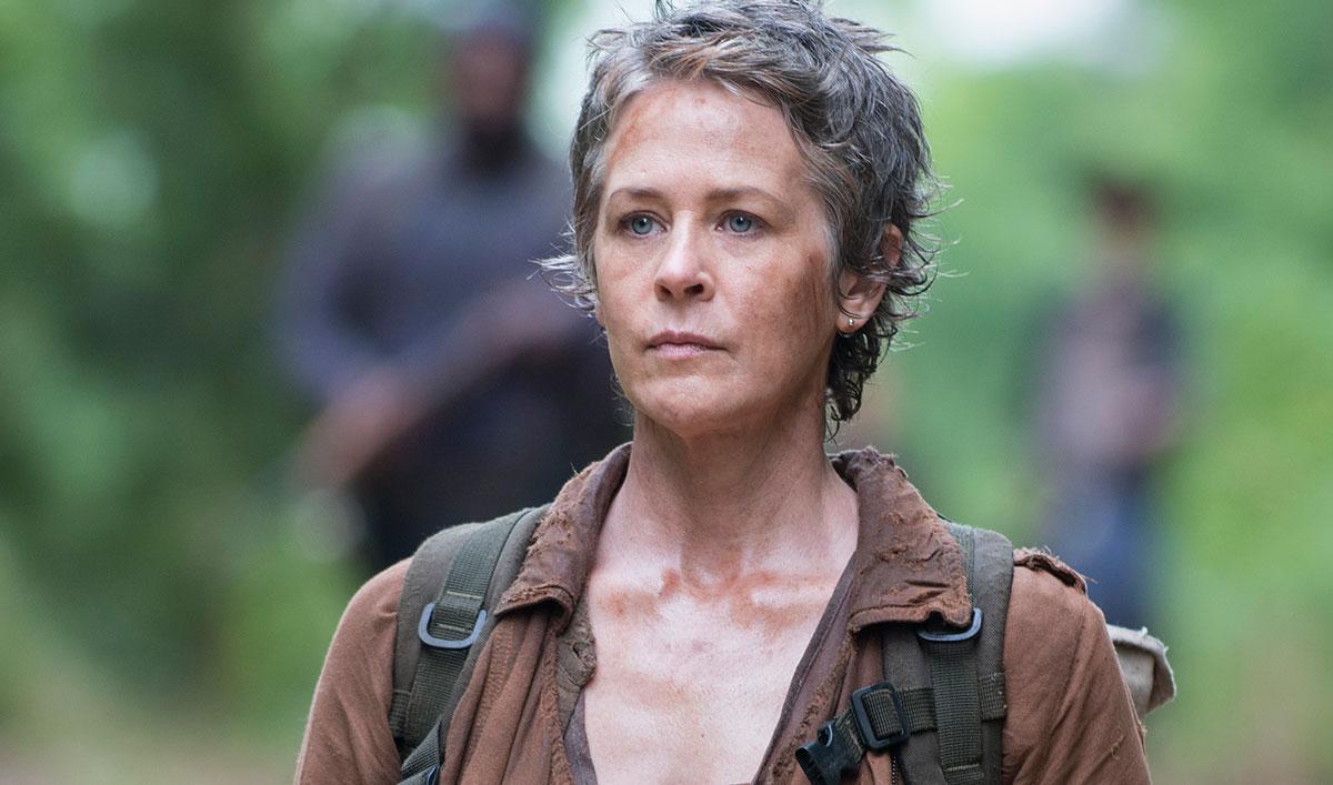 Melissa McBride impactada al leer el guión de 'The Walking Dead'