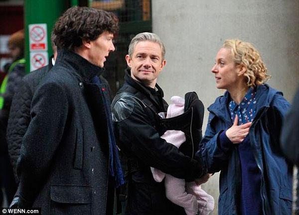 'Sherlock': nuevas imágenes reveladoras del rodaje