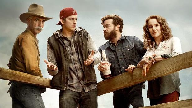 Ya podemos ver 'The Ranch', la comedia de Ashton Kutcher
