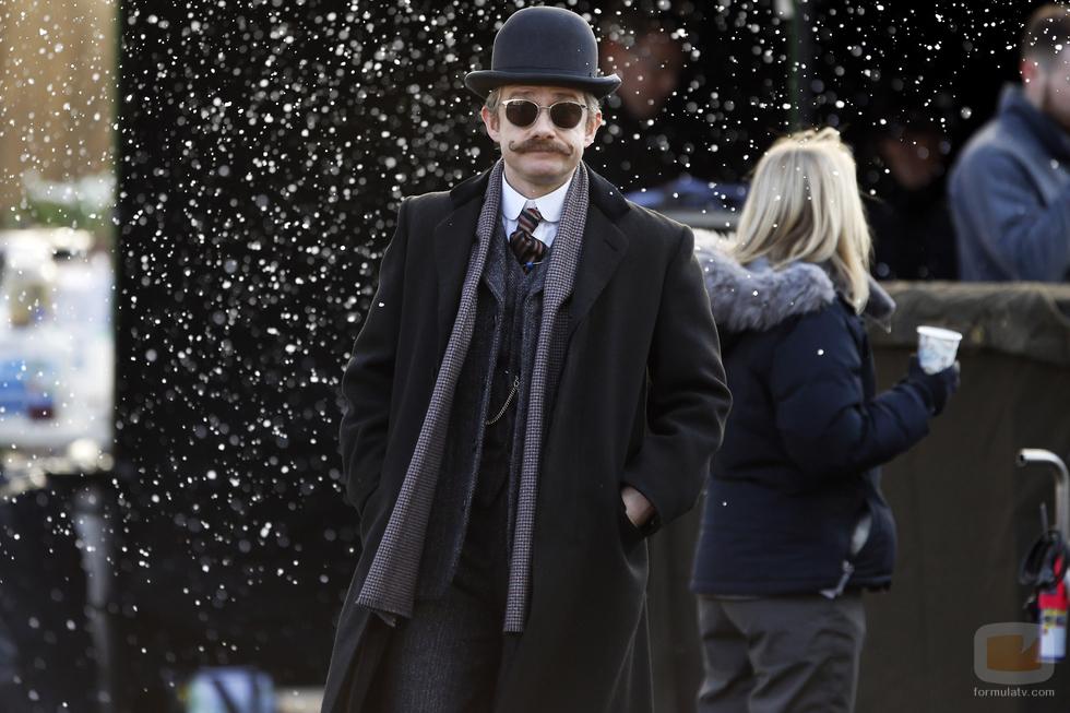 Primeras imágenes de la 4ª temporada de 'Sherlock'