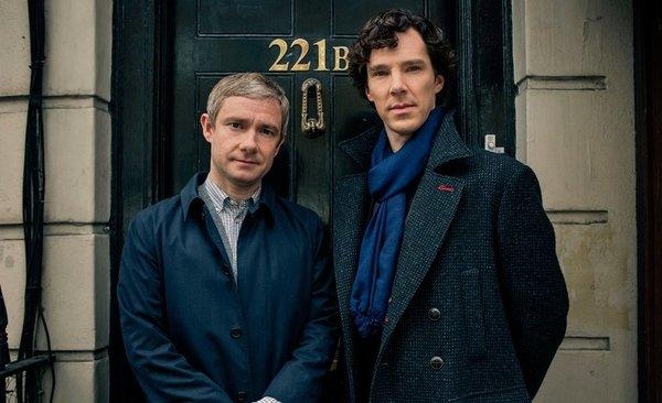 'Sherlock': primera imagen del rodaje de la 4ª temporada