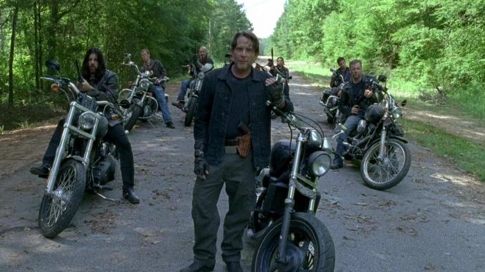 'The Walking Dead': el truco de Los Salvadores.