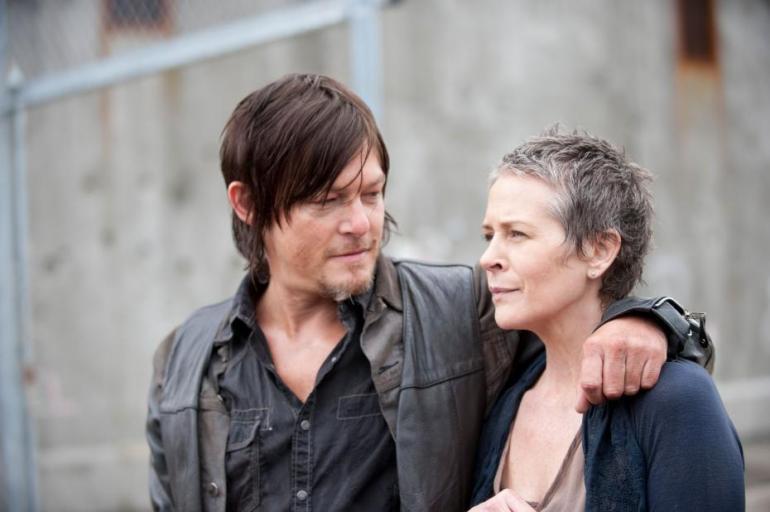 'The Walking Dead': se reconoce la química entre Daryl y Carol