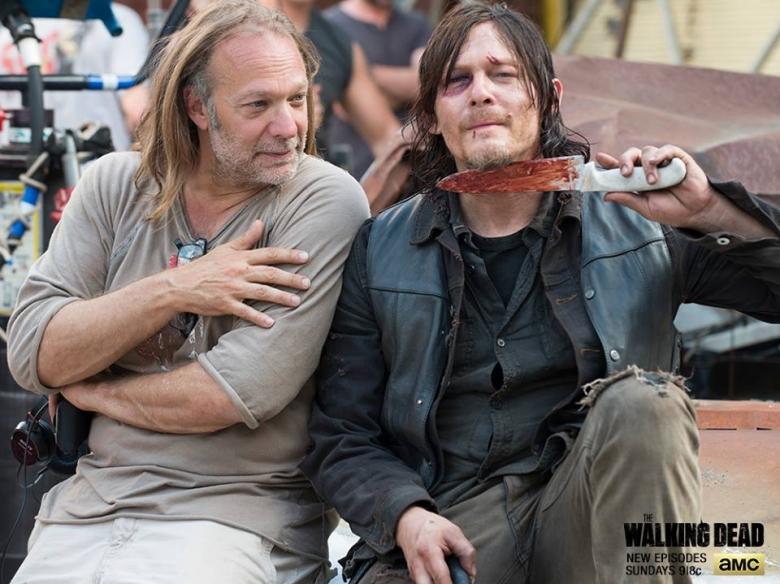 'The Walking Dead': los padres de Greg Nicotero, enfadados