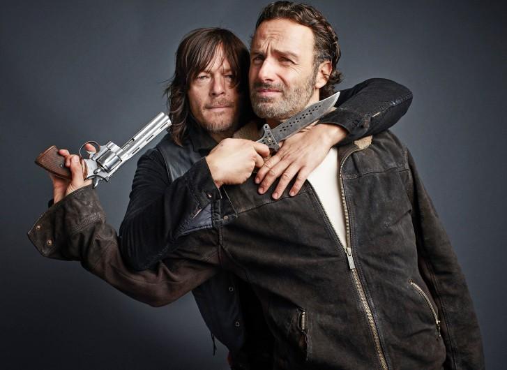 Reedus y Lincoln imaginan otro 'Walking Dead' diferente