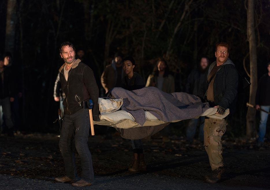 The Walking Dead ha rodado 11 finales alternativos
