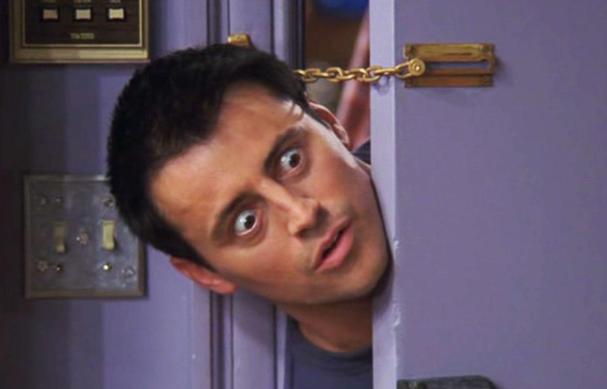 Friends: el ataque de risa de Joey que pasó desapercibido