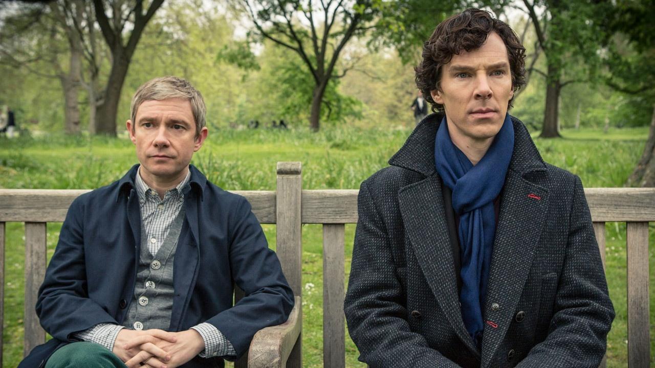 Sherlock: nueva foto de Cumberbatch en el rodaje