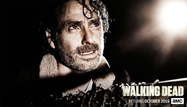 Pósters de las posibles víctimas de Negan en The Walking Dead