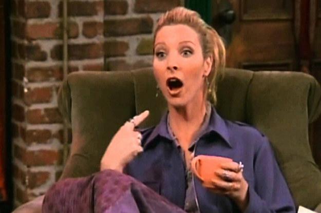 ¿Sabéis cómo fue ideada Phoebe, de Friends?